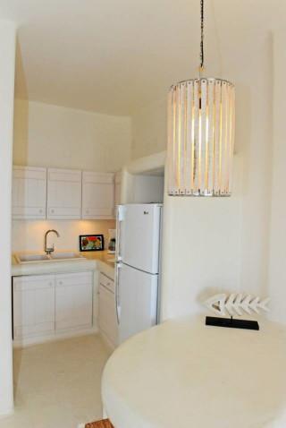 one bedroom apartment sarakiniko view kitchen